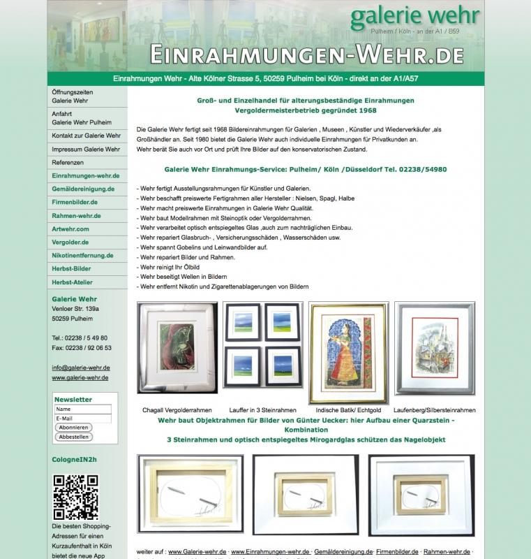 Kunstwerk - Galerie Wehr - Kunstgalerie & Werkstatt für ...