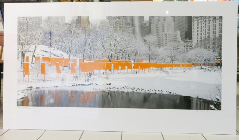 Christo - Skyline im Schnee New York