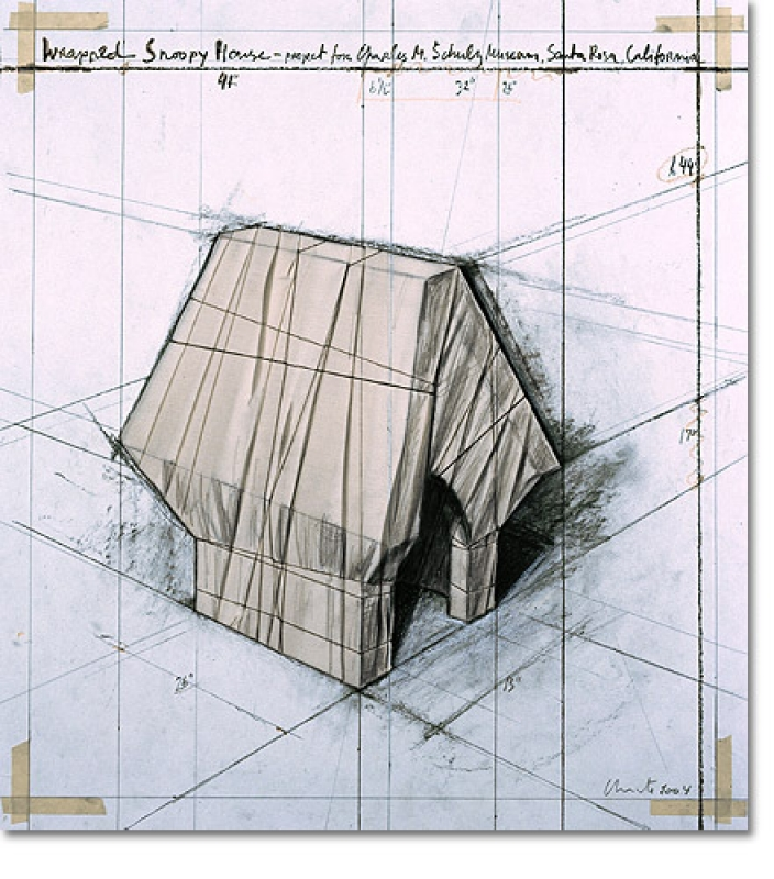 Christo - Christo - Wrapped Snoopy House 2004