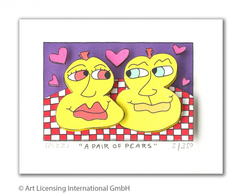 RIZZI10245 a pair of pears