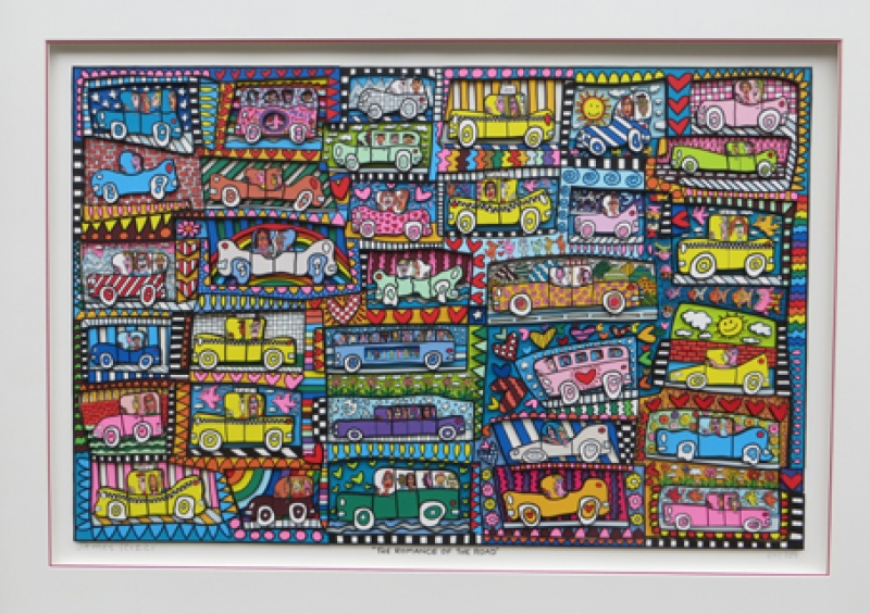 James Rizzi The Romance of the road wehr