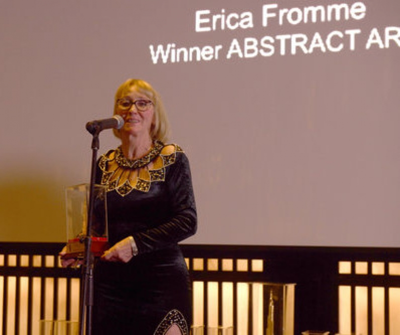 Erica Fromme - Erica Fromme Winner Global Art Award - Abstract Art, Dubai