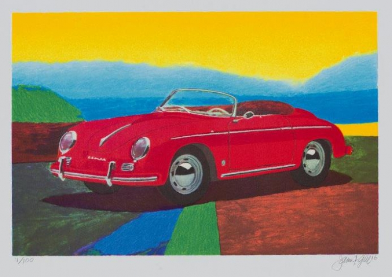 James Francis Gill - PORSCHE 356 SPEEDSTER