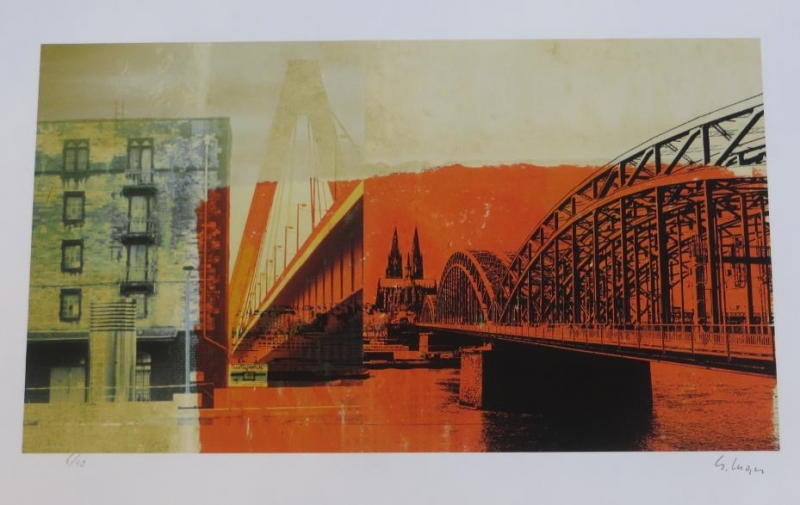 Gery Luger - Köln Orange Nr  483