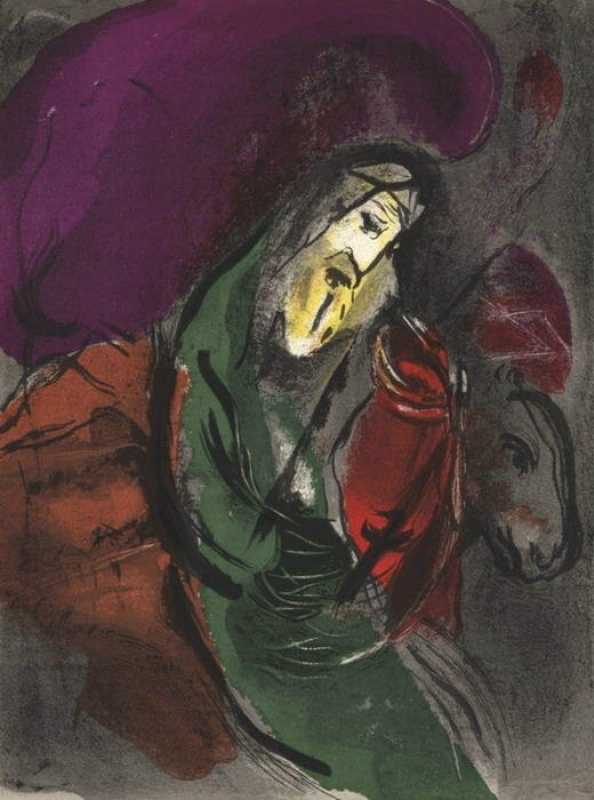 Marc Chagall Jeremias