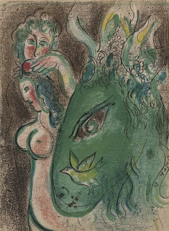 Marc Chagall Paradies