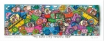 James Rizzi RIZZI10267 �MY BUSY CITY TRAFFIC JAM� 6 x 18 cm