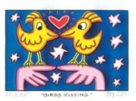 James Rizzi RIZZI10262 �BIRDS KISSING� 5,1 x 7,7 cm