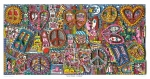 James Rizzi RIZZI10269 �GIVE PEACE A CHANCE� 41 x 81,5 cm