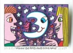 James Rizzi RIZZI10259 �MOON BEAMS AND DREAMS� 5,1 x 7,7 cm