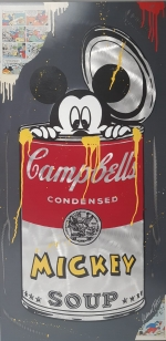 Michael-Friess-Mickey-in-cambells-soup